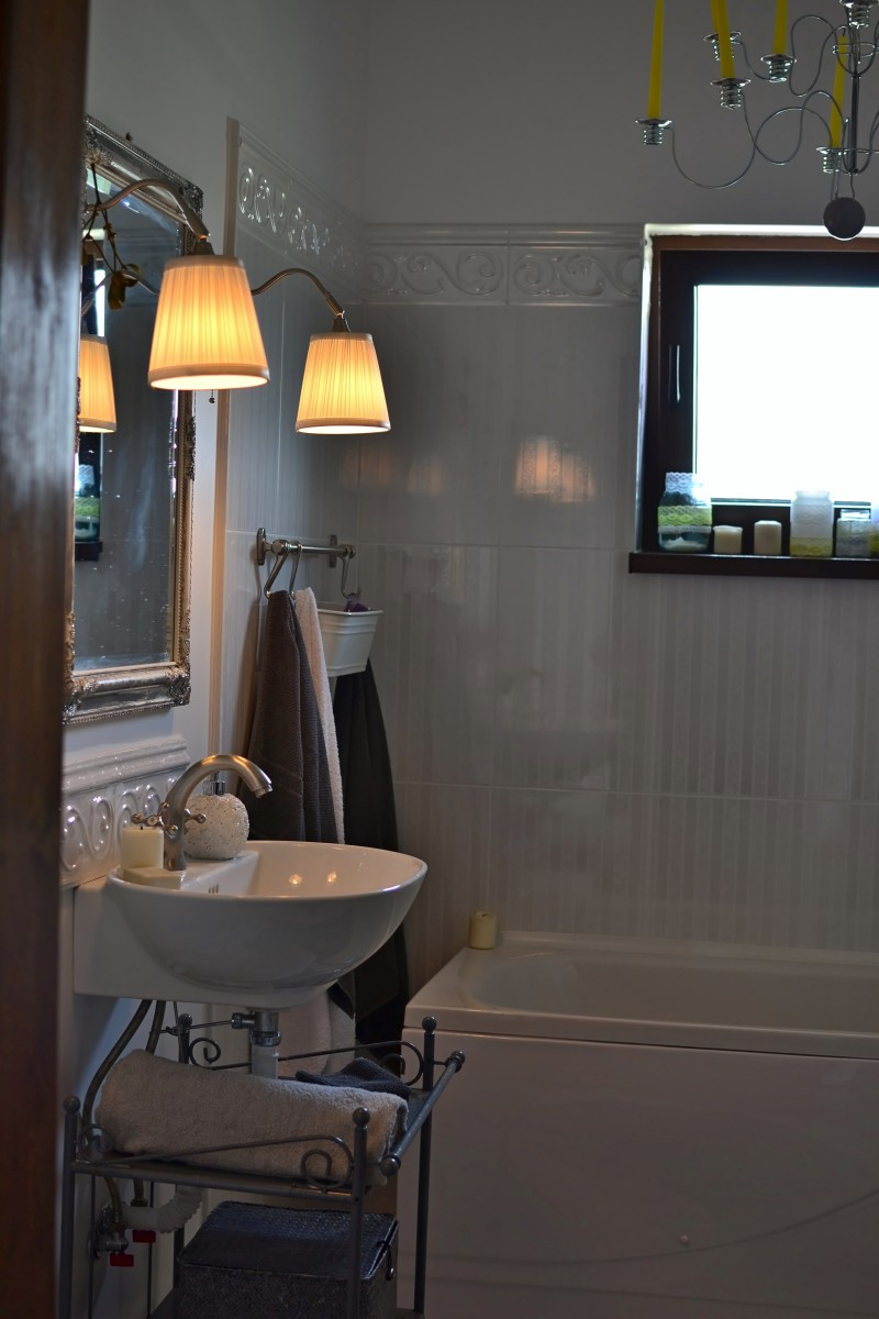 bathroom santorini